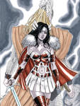 Lady Sif from Thor Commission