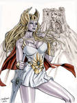 She-Ra Princess of Power Ink and Marker Sketch
