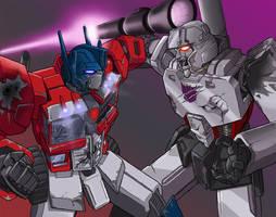 Megs vs Prime by AzureChris
