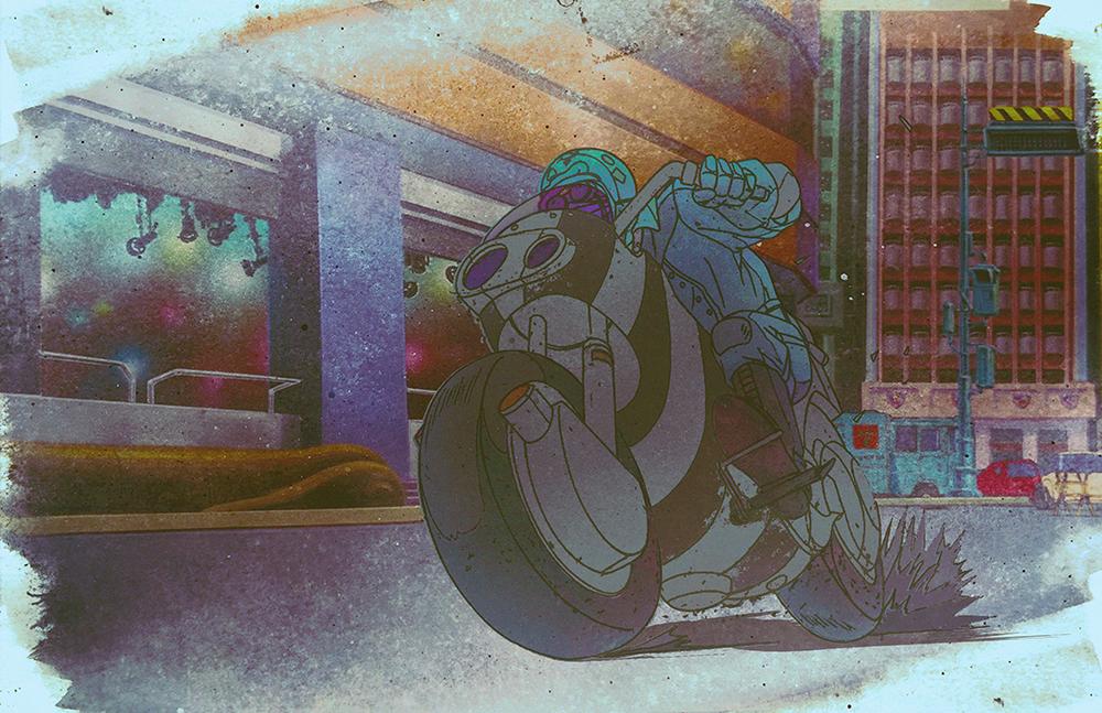 Akira by SkeliFish
