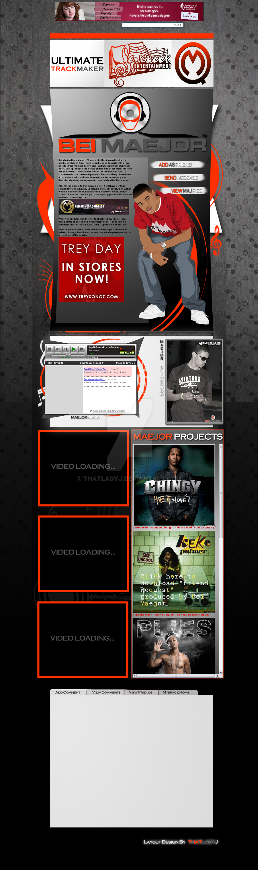 Myspace layouts that dont suck
