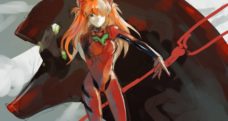 asuka by E-Lien