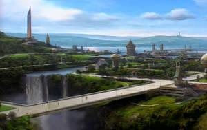 Dahkur City - Bajor by PakPolaris