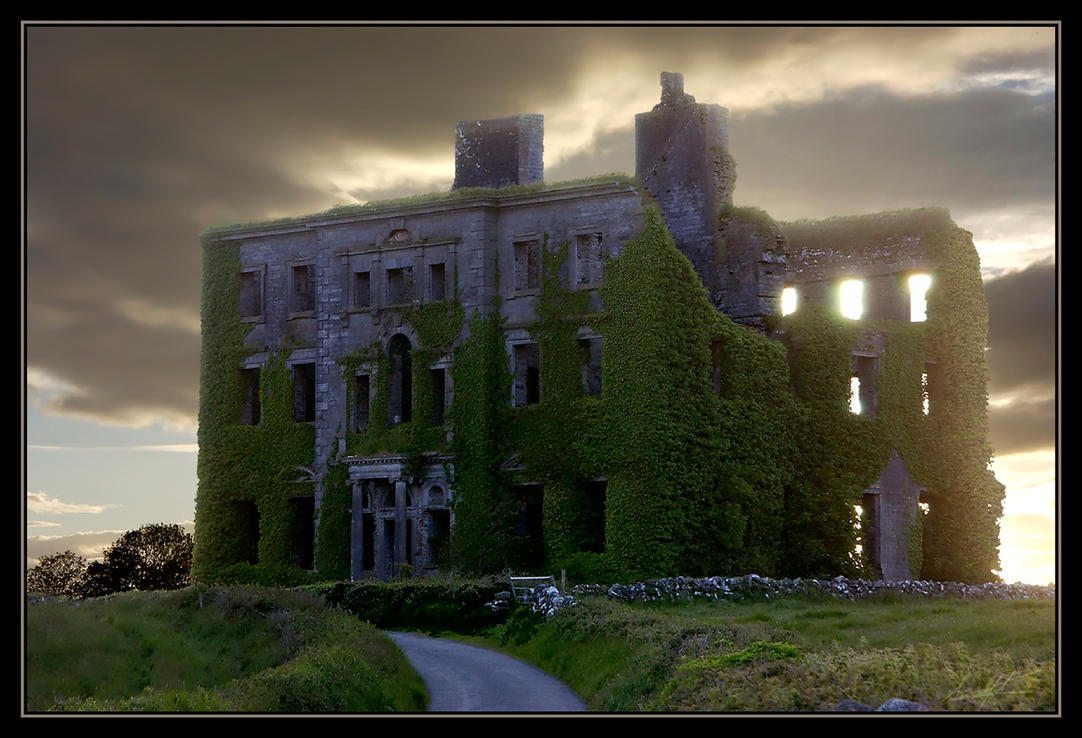 Ireland abandoned by elementalist on deviantart - The beauty of an abandoned house the art behind the crisis ...