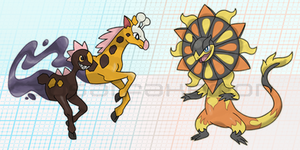 Mega Evolutions Fanart