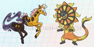Mega Evolutions Fanart