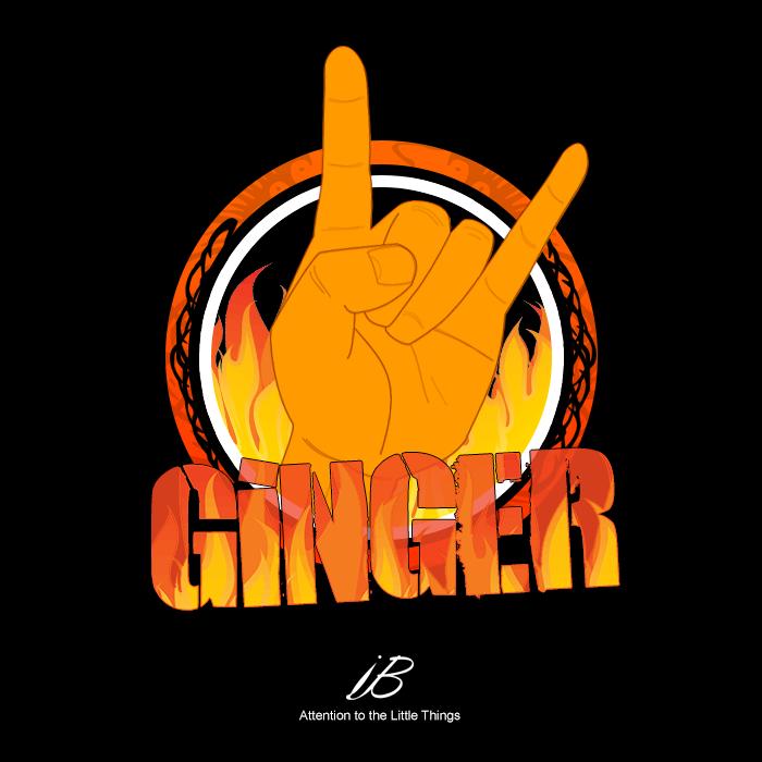 GingerFinger Logo by iBrushART