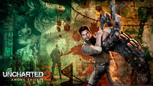 Uncharted 2 wallpaper by De-monVarela