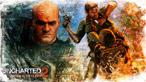 Uncharted 2 wallpaper 3 by De-monVarela
