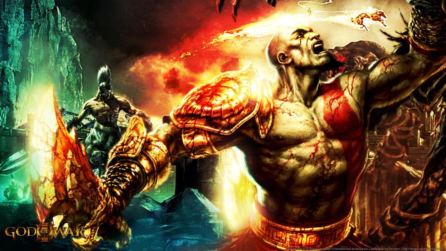 God Of War 3 Wallpaper Imagui