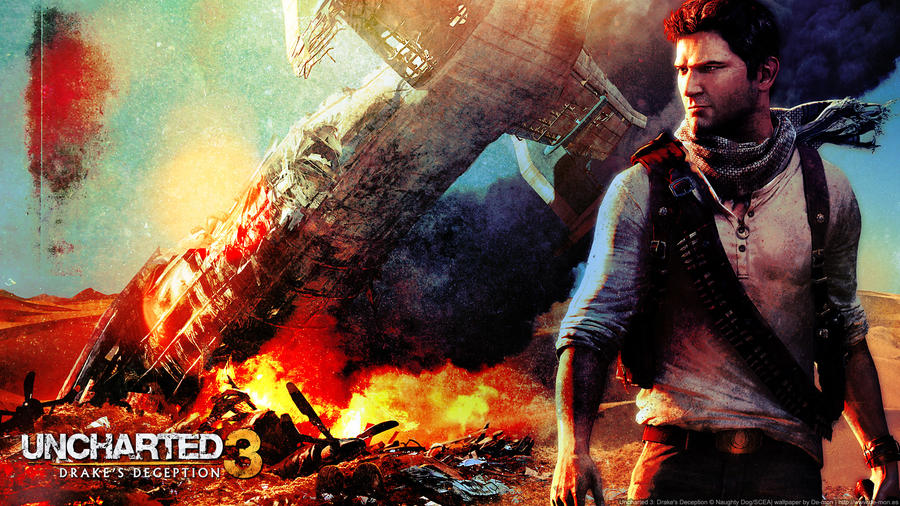 Uncharted 3 - wallpaper by De-monVarela on DeviantArt