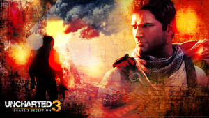 Uncharted 3 - wallpaper 2 by De-monVarela