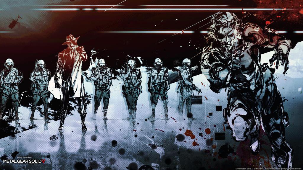Metal Gear Solid V wallpaper by DemonVarela on DeviantArt