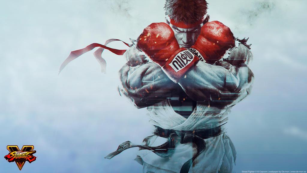 Street Fighter V wallpaper by De-monVarela