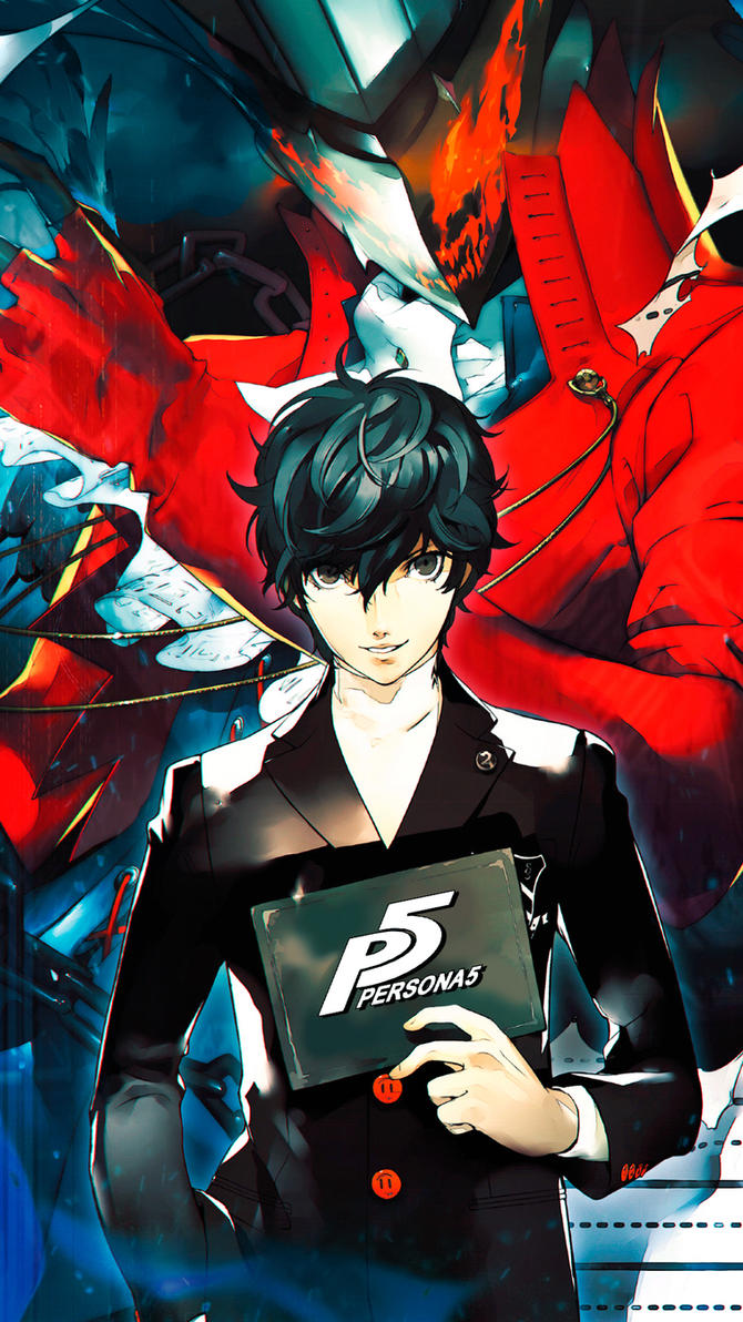 persona 5 wallpaper for smartphone by demonvarela on