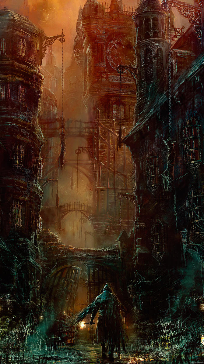 Bloodborne wallpaper for smartphone by De-monVarela