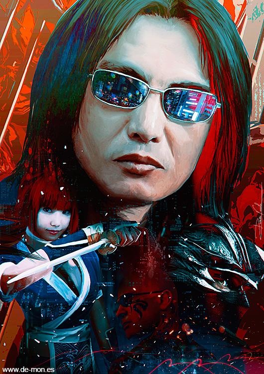 Tomonobu Itagaki tribute - Master Ninja by De-monVarela