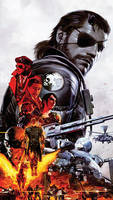 Metal Gear Solid V smartphone wallpaper