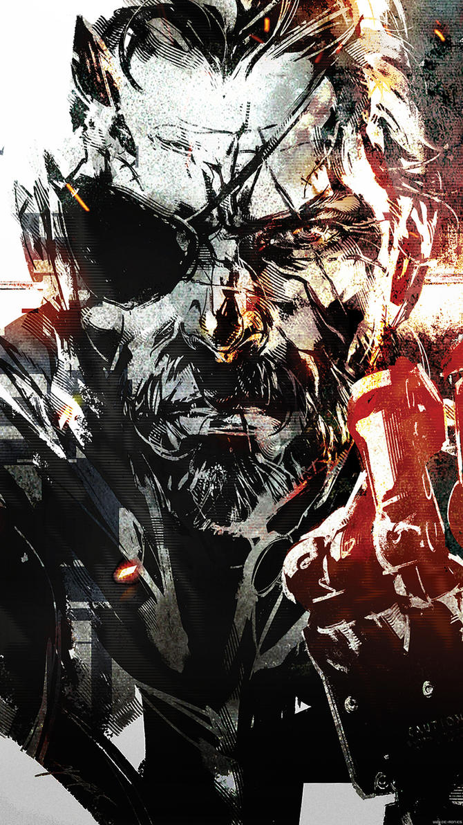Metal Gear Solid V smartphone wallpaper by De-monVarela