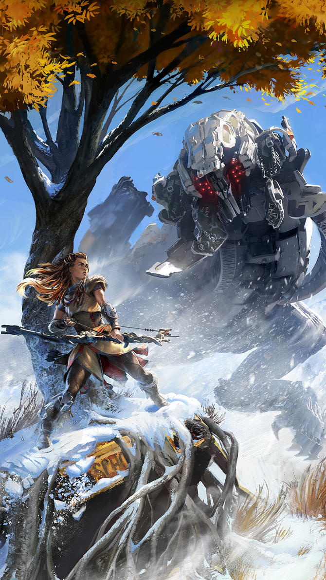 Horizon: Zero Dawn smartphone wallpaper by De-monVarela