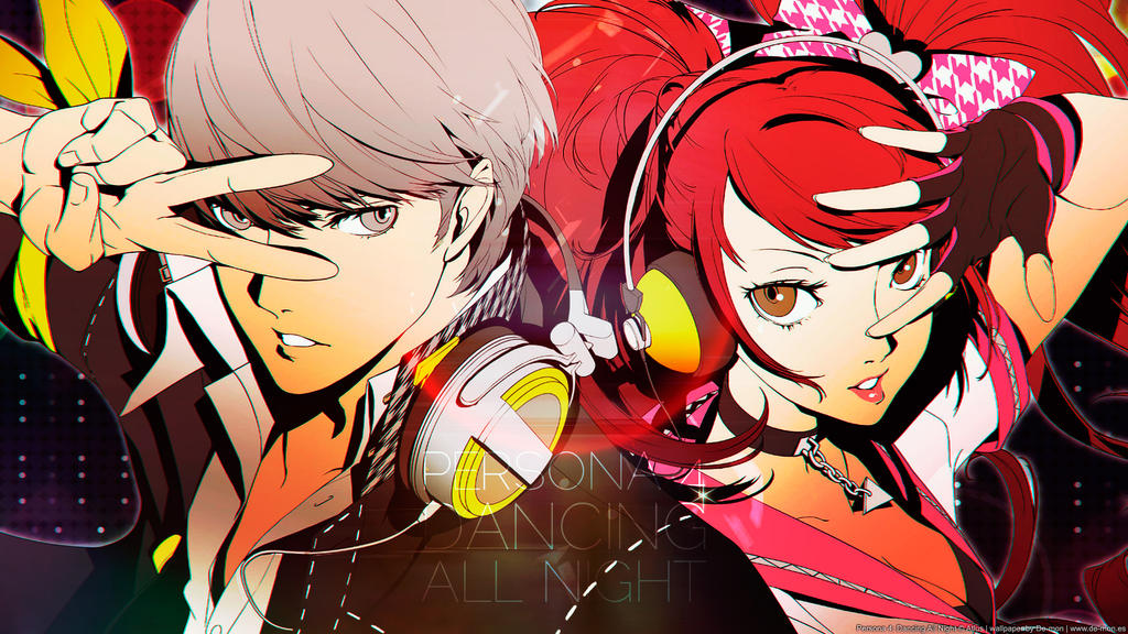 Persona 4: Dancing All Night wallpaper by De-monVarela
