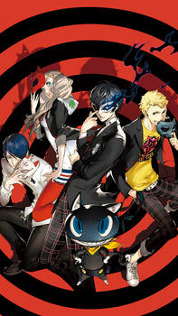 Persona 5 wallpaper for smartphone