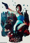 Jill Valentine - Resident Evil 3 fan art