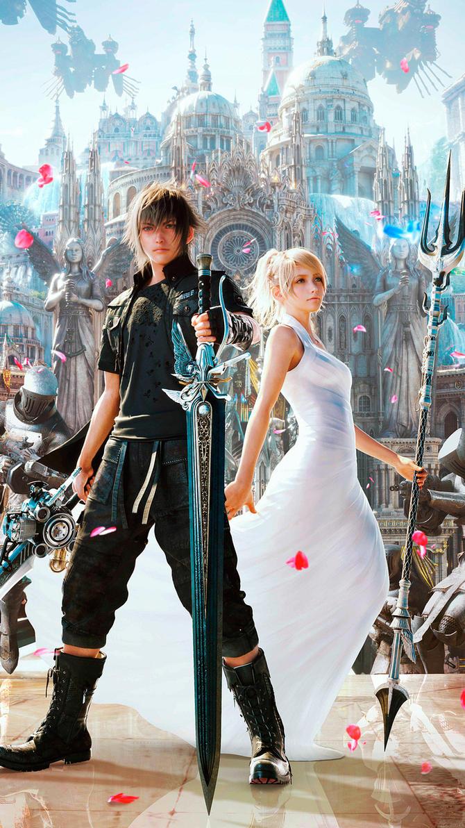 Final Fantasy XV Smartphone Wallpaper By De MonVarela
