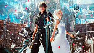 Final Fantasy XV desktop wallpaper