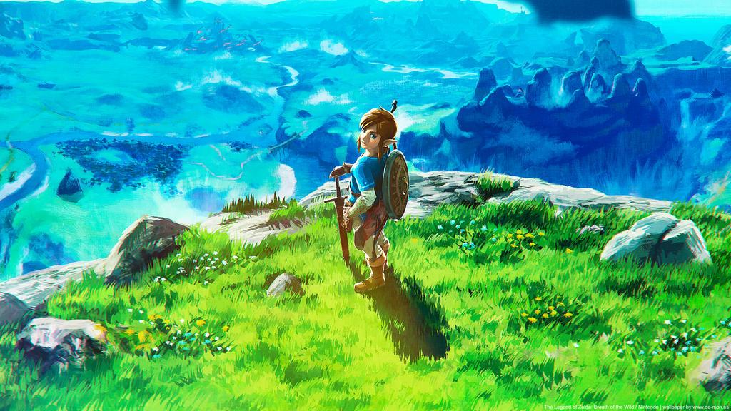 Zelda Wallpaper Breath Of The Wild: The Legend Of Zelda: Breath Of The Wild Wallpaper By De
