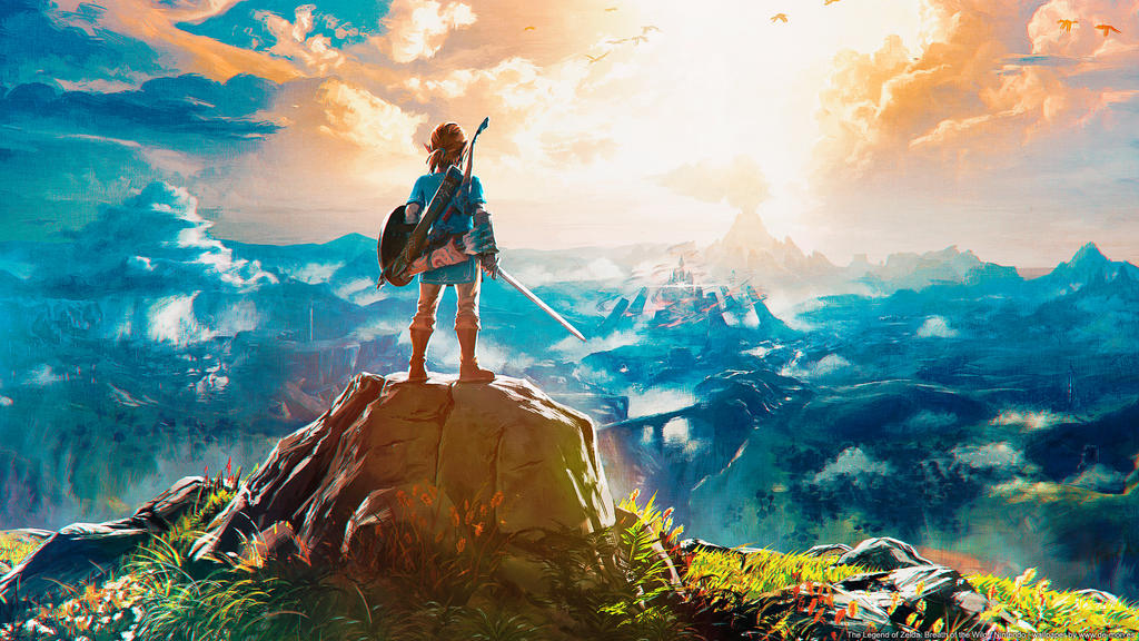 1024x576px Zelda: Breath Of The Wild Wallpapers