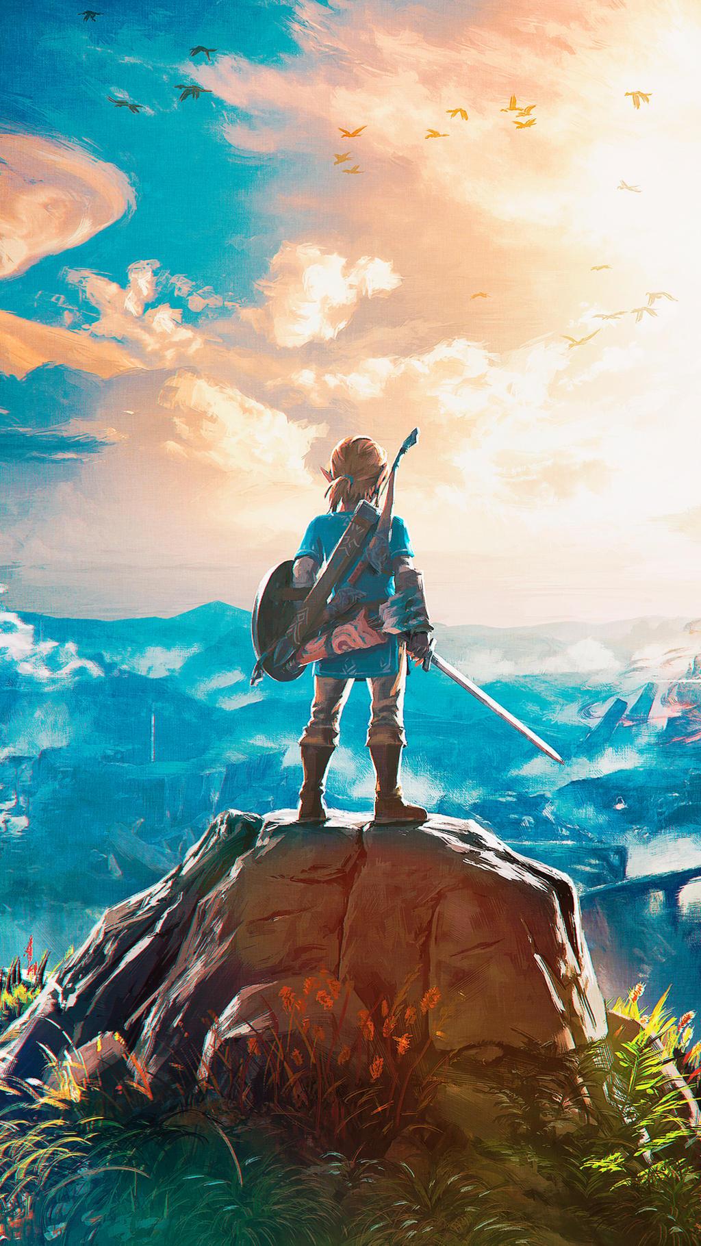 The Legend of Zelda: Breath of the Wild wallpaper by De ...