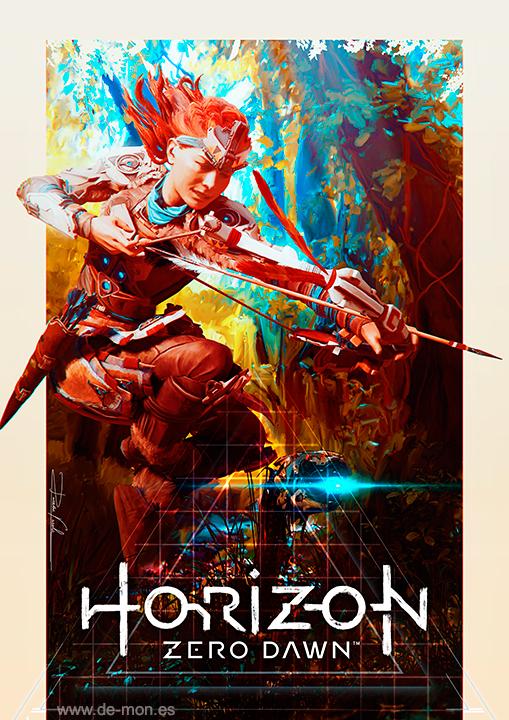 Horizon: Zero Dawn fan art #HorizonZeroDawn by De-monVarela