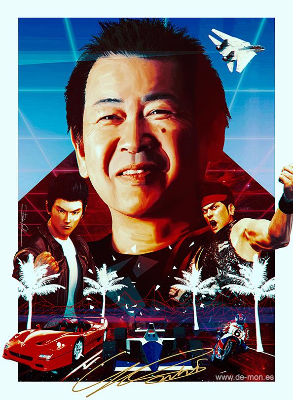 Yu Suzuki - Sega legend  (v 2.0)| @yu_suzuki_jp by De-monVarela