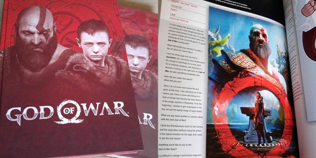 God of War Prima Games by De-monVarela