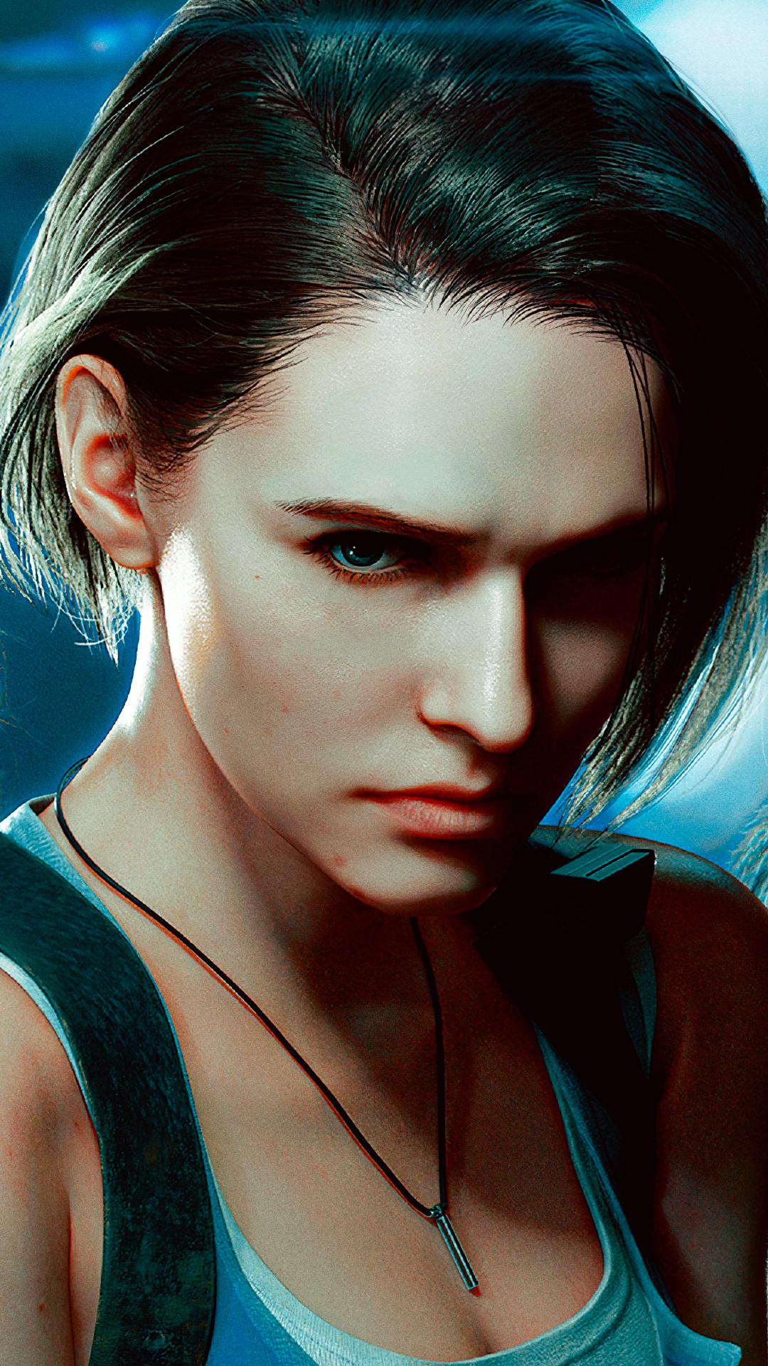 Resident Evil 3 Remake Smartphone Wallpaper By De Monvarela On