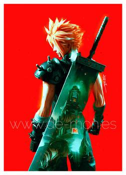 Cloud - Final Fantasy VII fan art