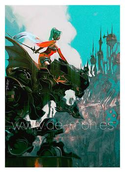 Terra/Tina Brandford - Final Fantasy VI fan art