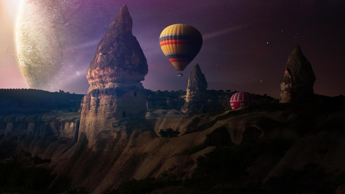 Cappadocia by DronArtThemes