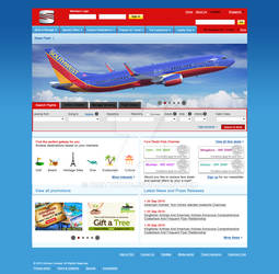webpage layout of sum airline