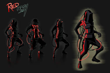 Red Army Designs by InnerEthosArtworks