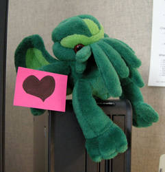 Cthulu Loves You by Maatkare
