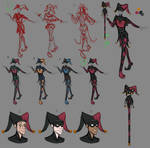 The Fool character design
