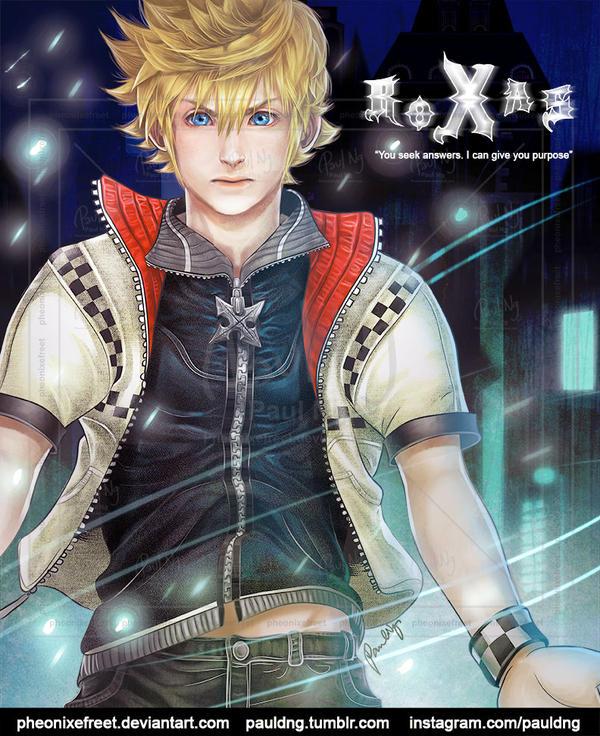 Kingdom Hearts - Roxas by pheonixefreet