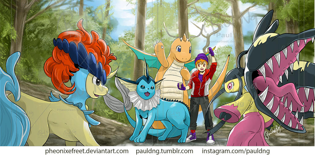 Pokemon - Team Pppaul #2 by pheonixefreet