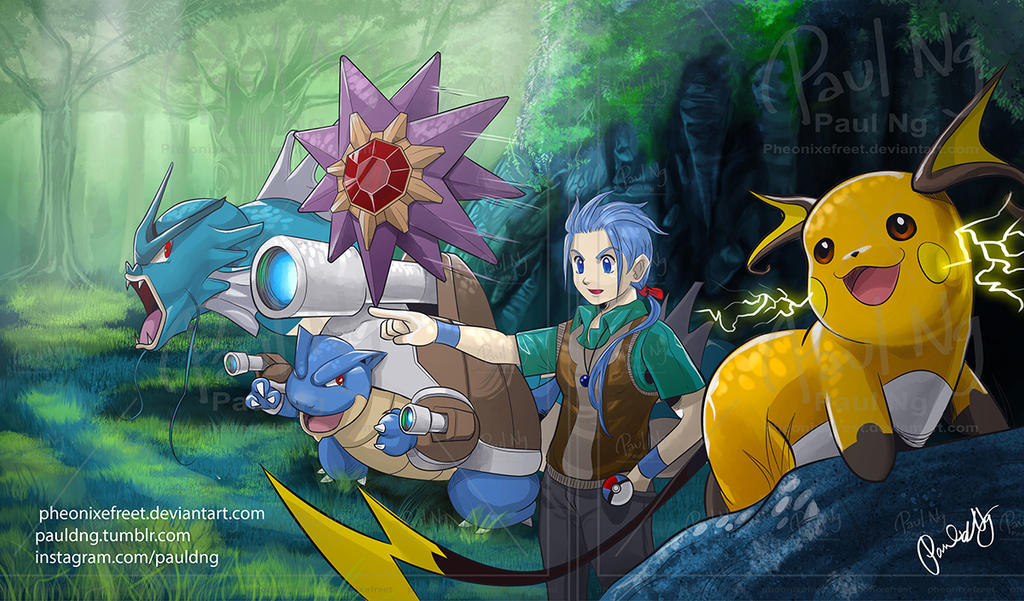 Pokemon - Team Undine by pheonixefreet