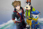 Kingdom Hearts - Sora Donald Goofy