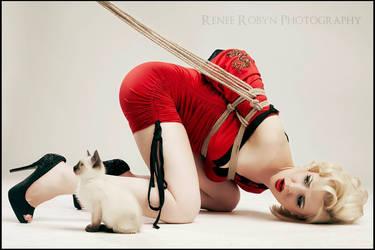 Rope Kitten by JFairy