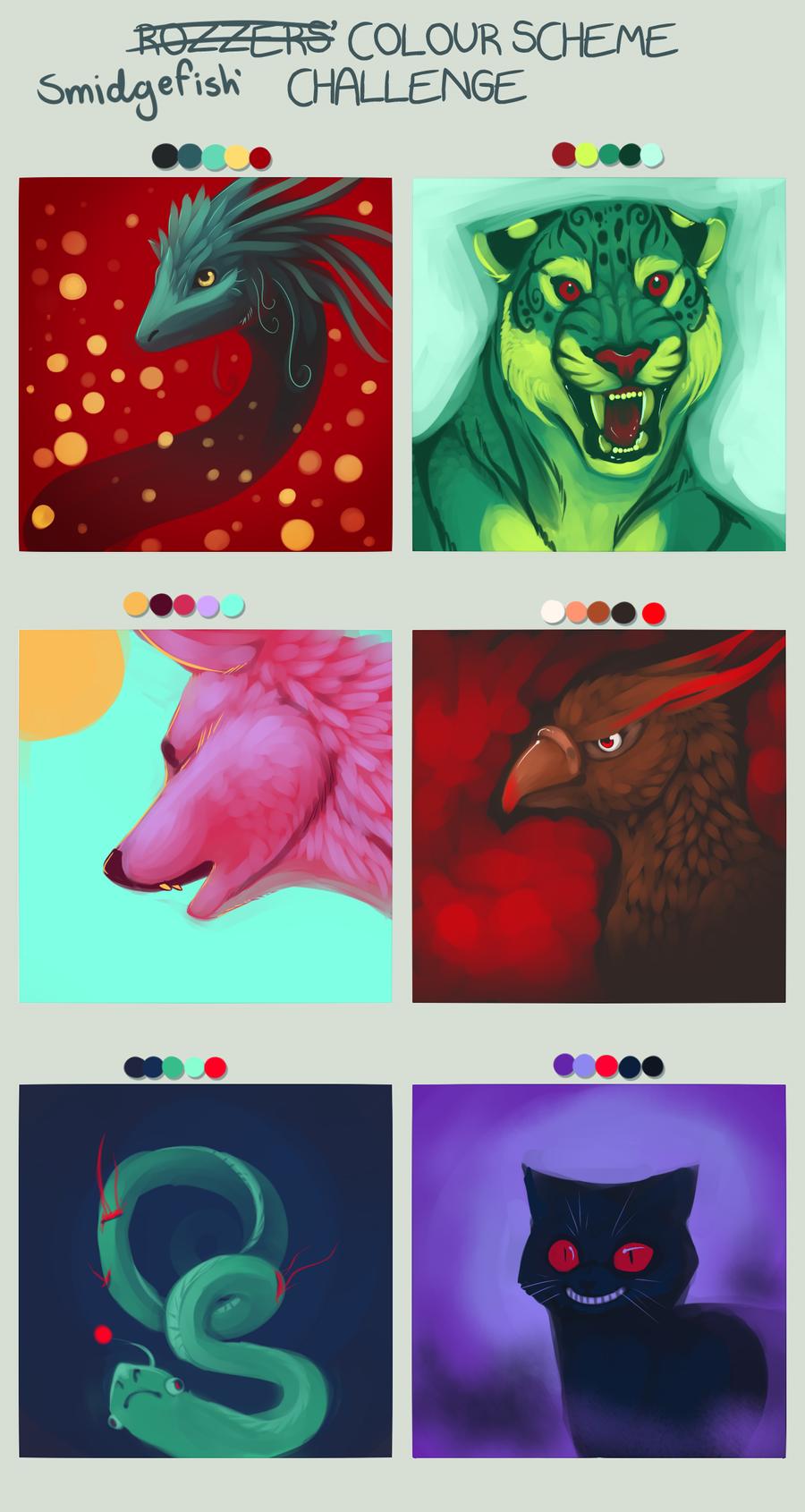 Smidge's Color challange by SmidgeFish