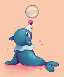POPPLIO by SmidgeFish